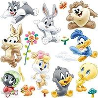 Adesivi Murali Looney Tunes.Amazon It Baby Looney Tunes Fai Da Te