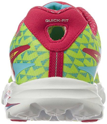 Skechers Go Run Ride 5, Multisport extérieure femme Hot Pink/Blue