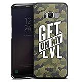 Samsung Galaxy S8 Hülle Schutz Hard Case Cover Montanablack Fanartikel Merchandise Get On My Level...