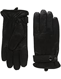 Isotoner Herren Handschuhe Smartouch Mens Leather Glove With Strap