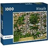 Winzeln - Puzzle 1000 Teile mit Bild von oben