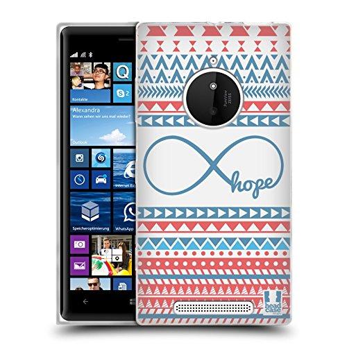 Head Case Designs Espoir Aztèque Infini Étui Coque en Gel molle pour Nokia Lumia 830