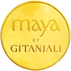 Gitanjali BIS hallmarked 20 gm, 24KT Yellow Gold Coin