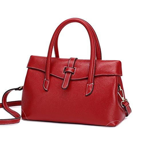 Borsa autunno e inverno, sposa,red, borsa a tracolla, messenger bag-A A