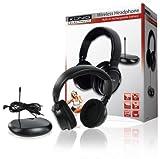 Konig HAV-TRHP20KN Cuffie wireless senza fili per TV, CD, PC, MP3, radio e qualsiasi altro dispositivo audio