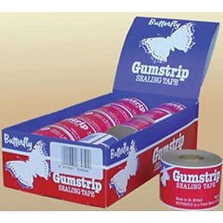 Butterfly Gumstrip Sealing Tape 48mm x 35m Pk10 (Pack)