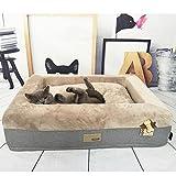 Hunde und Katzen Hundebett wasserdicht und waschbar Kleine mittlere Hund können verwendet werden, sehr bequem Luxus Bett, geeignet für Teddy, bomei, Golden Retriever viele Hunde