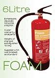 10 x 6 litros espuma extintor 6Ltr - Certificado por - completamente certificado CE