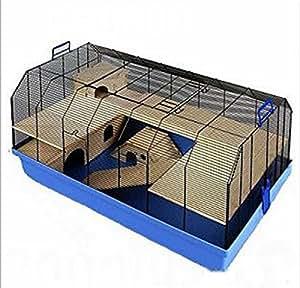 k fig mit zubeh r hochwertig geeignet f r hamster m use w stenrennm use und andere. Black Bedroom Furniture Sets. Home Design Ideas