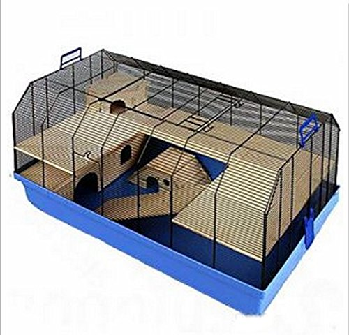 Excellent Top Quality Cage - W/ Complete Set Of Accessories - Suitable For Hamsters, Mice, Gerbils And Other Small Pets 1