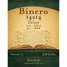Binero 14x14 Deluxe - Facile à Difficile - Volume 12 - 468 Grilles