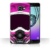 Coque de Stuff4 / Coque pour Samsung Galaxy A5 (2016) / Motocross/Rose Design / Casque Moto Collection