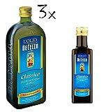 3x De Cecco Classico Natives Olivenöl Extra Olio Extra Vergine 1 Lt nativ + De Cecco Classico Natives Olivenöl 250ml