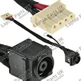 Laptop Parts UK (UK VAT Registered) Sony Vaio PCG-71811M DC Power Jack, Strombuchse, Buchse, Netzteilbuchse mit Kabel