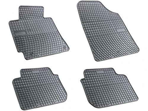 Passgenaue Gummifußmatten FROGUM - ein SET - 4-Teile Vanille KO-FRO-0433-172 2012 Hyundai Elantra Fußmatten