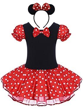 IWEMEK Neugeborene Baby Mädchen Prinzessin Tüll Kleid Polka Dots Ballettkeider Trikot Tanzkleider Säuglings Kleinkind...