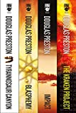 Best Fiction Book Series - The Wyman Ford Series: Tyrannosaur Canyon, Blasphemy, Impact Review