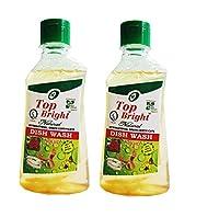 Top Bright Dish wash Liquid,450ml,Pack of 2