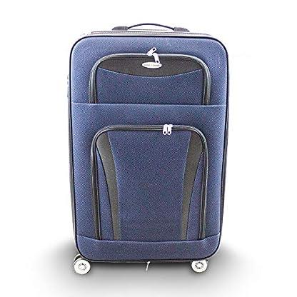 Kofferset-2-teilig-L-XL-Reisekoffer-Trolley-Stoffkoffer-Softcase-Teleskopgriff-Modell-Traveler-Line