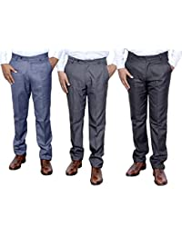 Indistar Combo Offer Mens Formal Trouser (Pack Of 3) - B01JRQXWRA