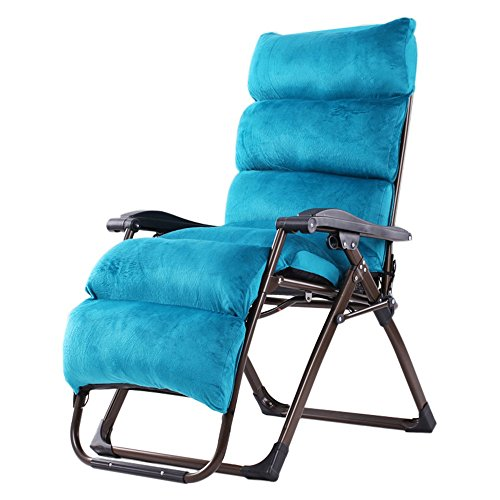 HAIZHEN ZHAIZHEN Chaise Lounge Gravity Chaises inclinables, chaises longues pliantes de gravité zéro extérieures Chaises longues inclinables réglables de patio pour le support de piscine de cour de pl