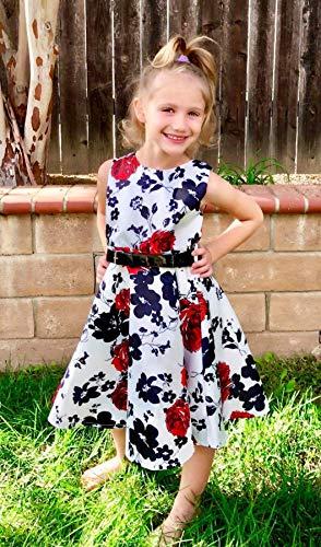 Zoom IMG-3 idgreatim little ragazza party vestito
