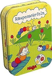 HABA Juego de Dados Raupenwürfeln (versión en alemán)