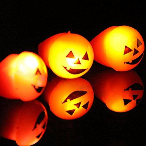 XGMSD Eyeballs Leuchtende Ringe Kürbis Lichter Finger Lichter Augapfel Führte Blitz Ring Halloween Requisiten Dekoration (5 (Mechanische Requisiten Halloween)