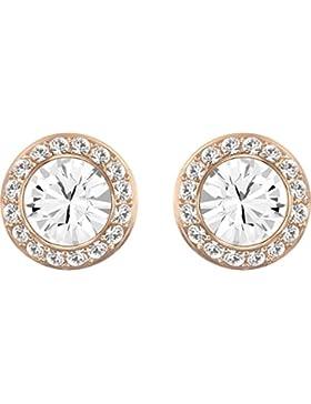 Swarovski Damen-Ohrstecker Angelic teilvergoldet Glas weiß - 5112163