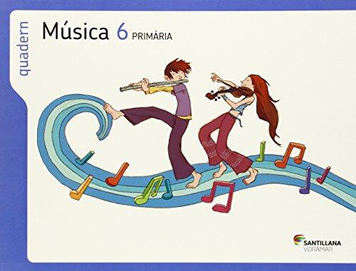 QUADERN MUSICA 6 PRIMARIA - 9788498079111 por Aa.Vv.