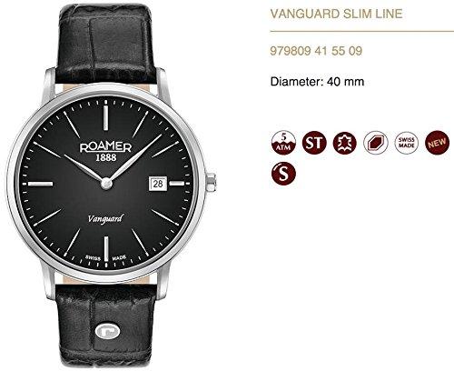 Roamer 979809 41 55 09 Montre à bracelet pour homme