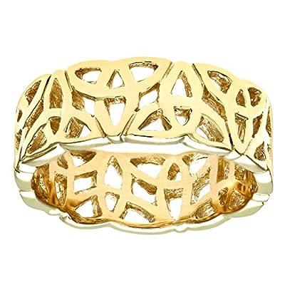 Citerna 9ct Yellow Gold Band Ring