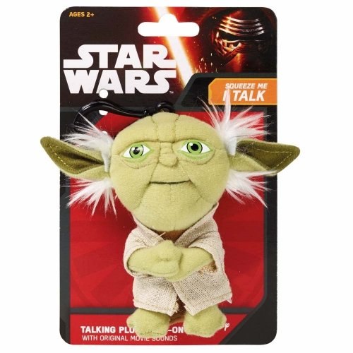 Yoda Star Wars Force Awakens EP7 Plush Mini Talking Toy