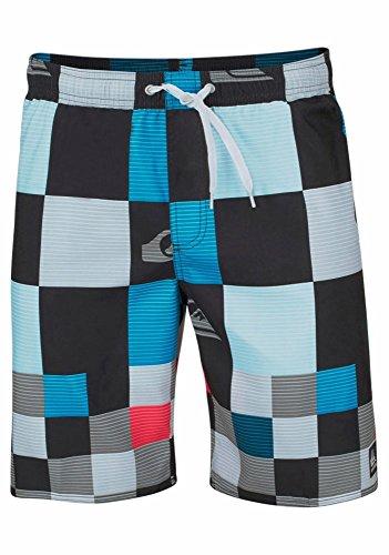 Quiksilver-jungen-shorts Herren (Quiksilver Jungen Boardshorts Badeshorts Strandshorts Shorts (128 (122), Schwarz))