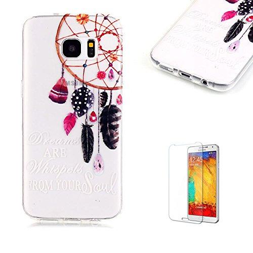 Cover Samsung Galaxy S7 Edge Silicone Custodia Morbida Trasparente con