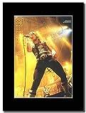 Iron Maiden - Bruce Dickinson World Slavery Tour ...Magazin Promo auf einem schwarzen Berg