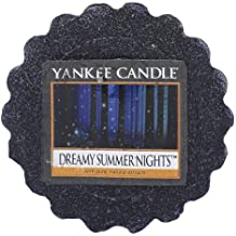 Yankee Candle Dreamy Summer Nights Tart da Fondere, Cera, Blu, 5.9 x 5.7 x 2 cm