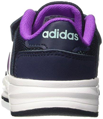 adidas Unisex-Kinder Cloudfoam Saturn cm Sneakers Blau (Conavy/shopur/claqua)