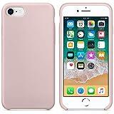Funda para iPhone 7/8 Carcasa Silicona Suave Colores del Caramelo con Superfino...
