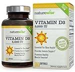NatureWise Vitamin D3 5,000 IU, 360 E...