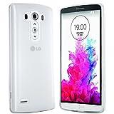 moodie Silikonhülle für LG G3 Hülle in Transparent - Case Schutzhülle Tasche für LG G3