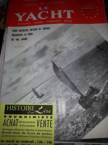 Journal de la marine Le Yacht n° 3292 12 janvier 1952 Pavillon d'or rallye mononautique