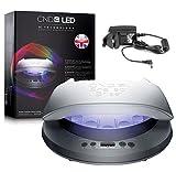 CND LED-Lampe/Nageltrockner für Shellac, Nagellack & Gel-Nägel, professionell, 2017Modell, UK-Stecker