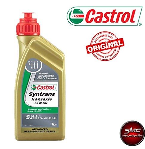 SMC Olio Cambio Manuale Originale CASTROL SYNTRANS TRANSAXLE 75W90 2 Lit. API GL-4+