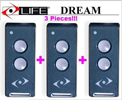 3-x-life-dream-3-canali-telecomando-radiocomando-43392mhz-rolling-code-la-nuova-versione-di-life-fid