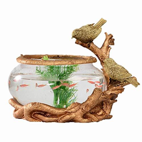LF stores Peceras Forma pájaro Creativa Goldfish
