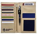 RFID Safe Travel Wallet - Ausweistasche für Reisepass, Boarding Ticket usw.