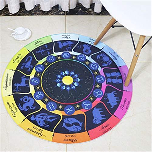 alfombras para niños playroomEarthMoon ronda mat constelación registro oso gamuza alfombra, D, tapette de jeu bebé