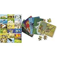 Puzzles & Geduldspiele 16 Dinosaurier 3D Puzzle Kinder Party Kindergeburtstag Mitgebsel Geschenkidee