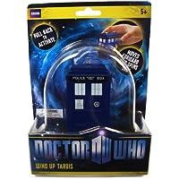 1e385382761 Doctor Who -Riproduzione in miniatura del Tardis - Girevole con ruote sulla  base - 10cm